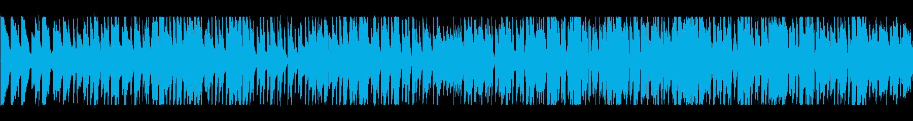 かわいいグロッケンのワルツの再生済みの波形