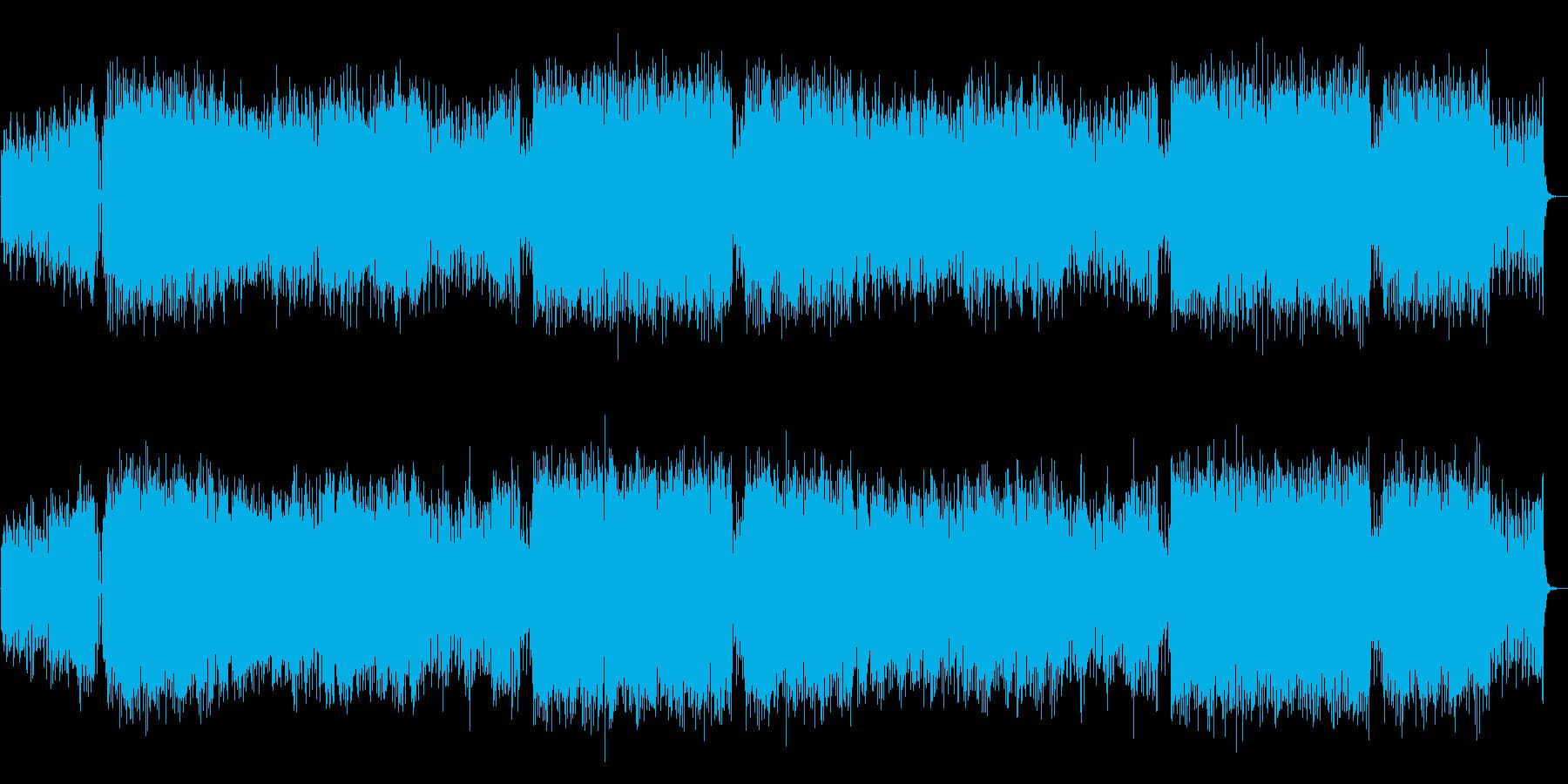 生演奏アコギ・前向き・疾走感・近未来の再生済みの波形