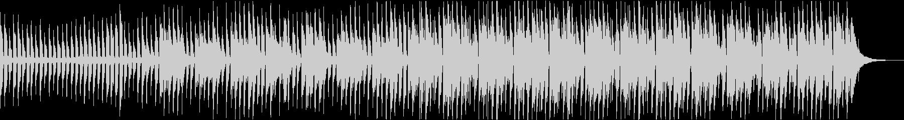 ウクレレ&マリンバ ほのぼの軽快な曲の未再生の波形