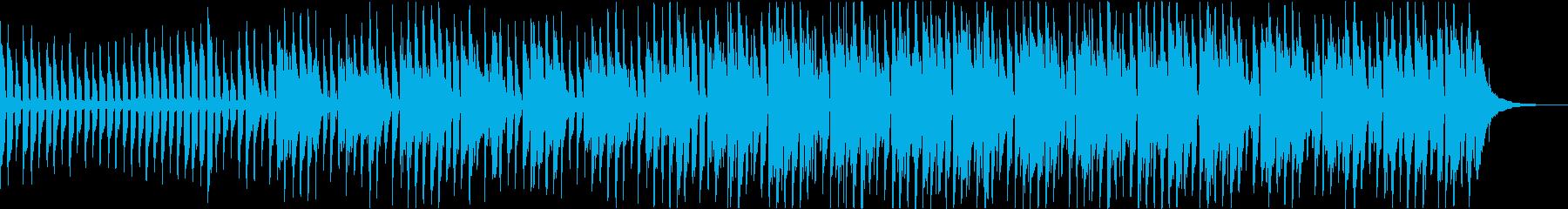 ウクレレ&マリンバ ほのぼの軽快な曲の再生済みの波形