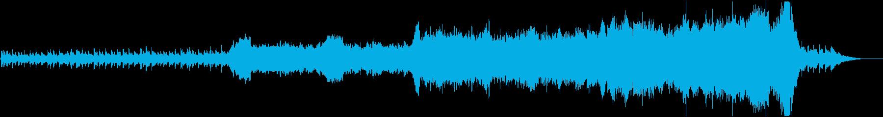 企業VPやCM、不気味なシーンの再生済みの波形