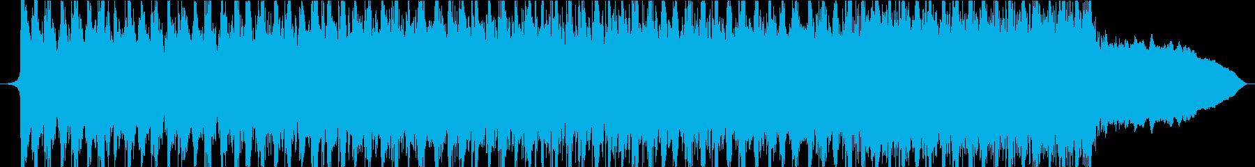 アクションエネルギッシュなスポーツロックの再生済みの波形