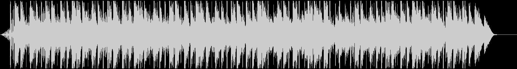 木琴と環境音のチルホップの未再生の波形
