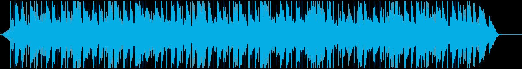 木琴と環境音のチルホップの再生済みの波形