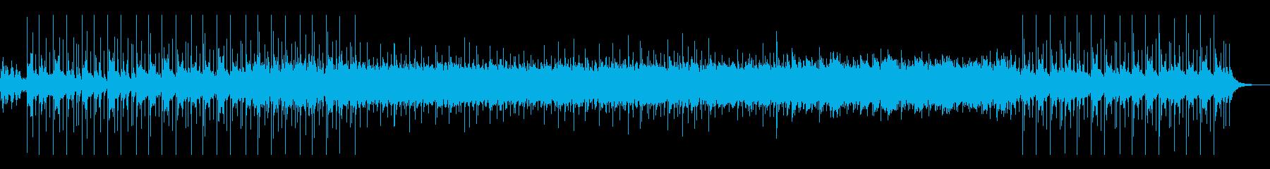 リラックスな太鼓の音とともにの再生済みの波形