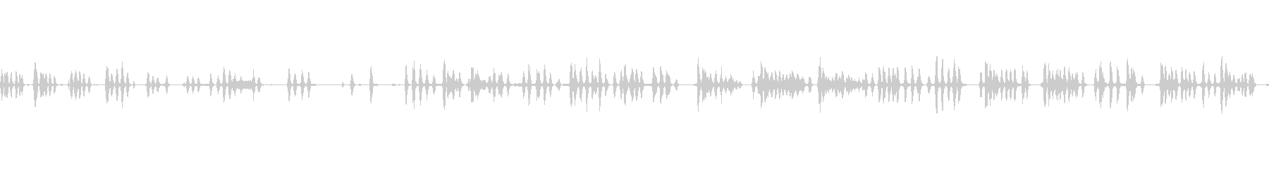犬の樹皮小部屋複数の未再生の波形