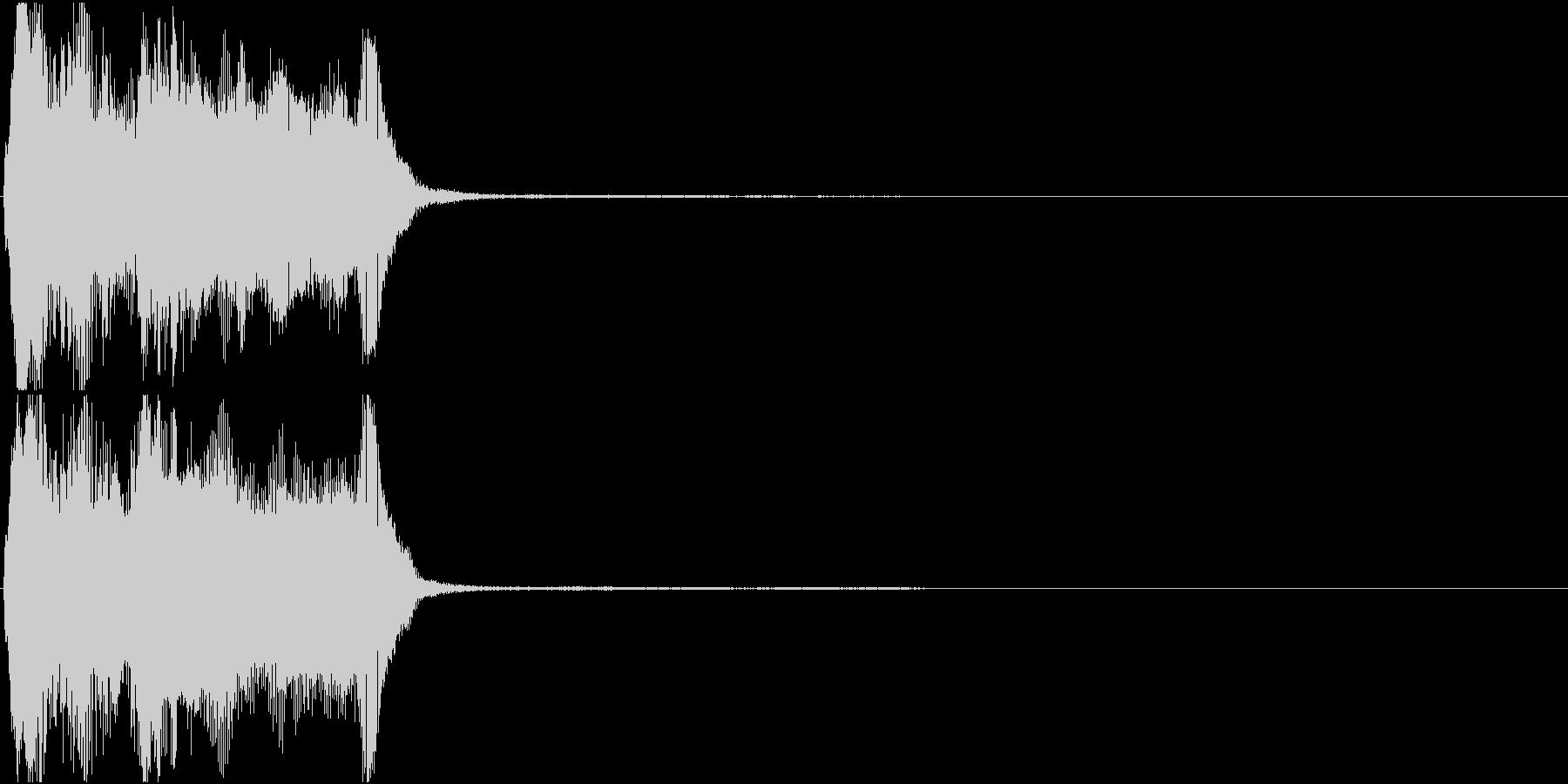トランペット ファンファーレ 定番 10の未再生の波形