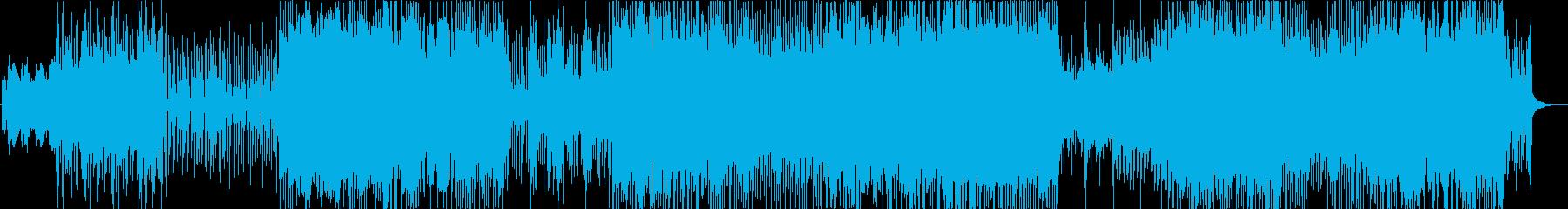 ポップ テクノ モダン アクティブ...の再生済みの波形