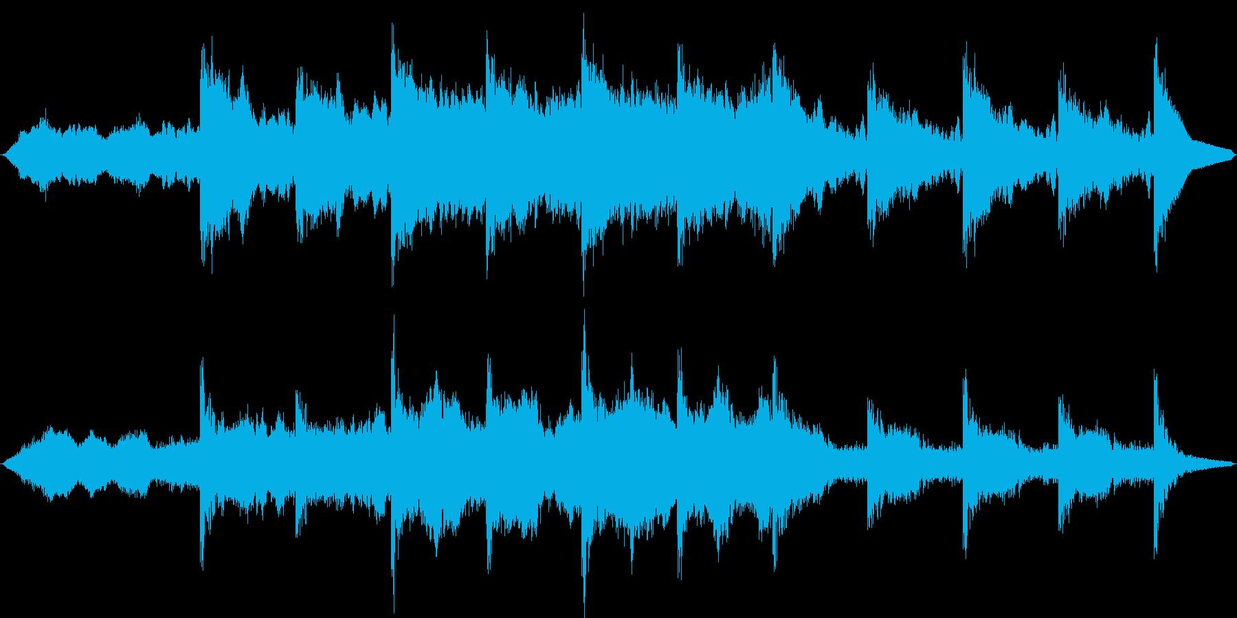 幻想的でファンタジーなシネマティックの再生済みの波形