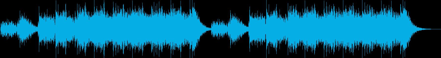 威圧的なループのフレーズの再生済みの波形