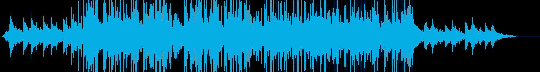 future bass、EDM1-Bの再生済みの波形