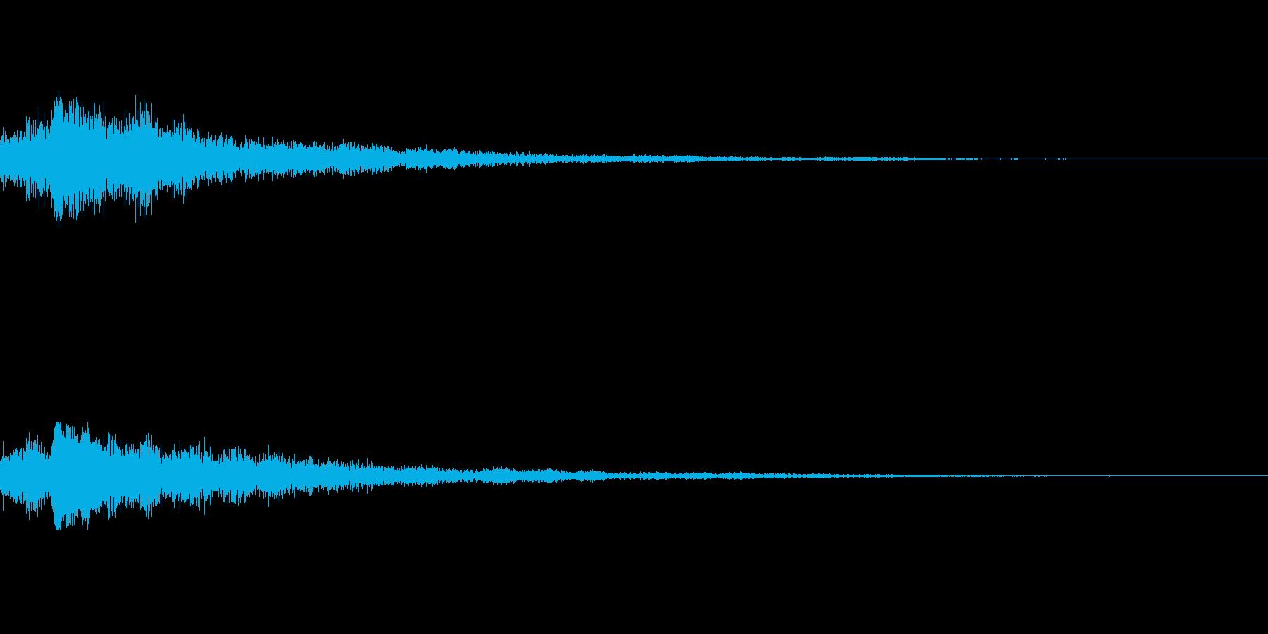 しゃらん♪ (連鎖01)の再生済みの波形