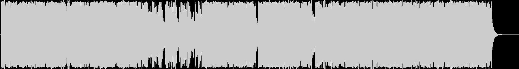 独創的シリアスホラーピアノの未再生の波形