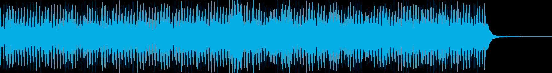 優しく静かで前向きな、ミニマルピアノの再生済みの波形