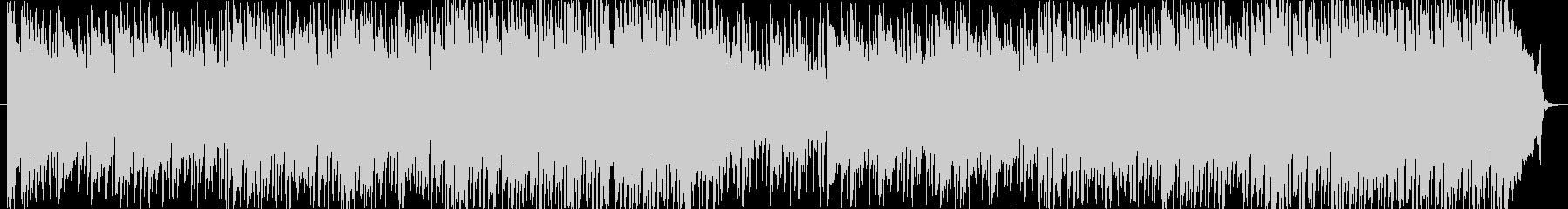 エレガントなミディアムテンポのBGMの未再生の波形