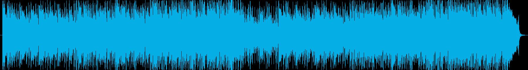 エレガントなミディアムテンポのBGMの再生済みの波形