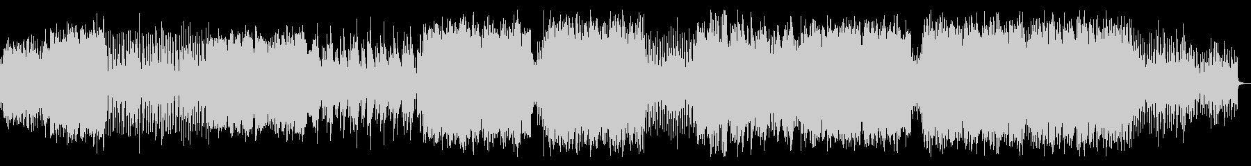 琴と尺八が印象的な和風EDMの未再生の波形