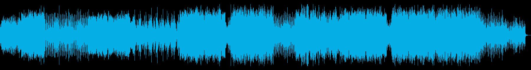 琴と尺八が印象的な和風EDMの再生済みの波形