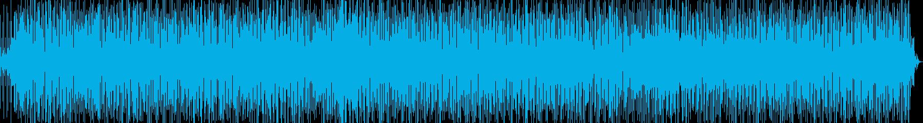 生演奏 軽快なラテンファンク Ver.1の再生済みの波形