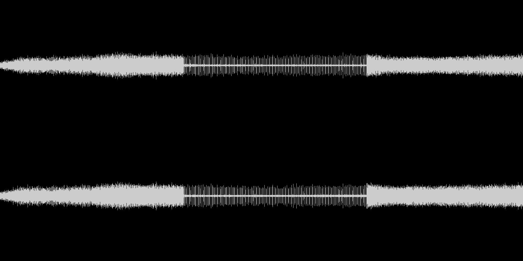 水スプリンクラーのダニ、の未再生の波形