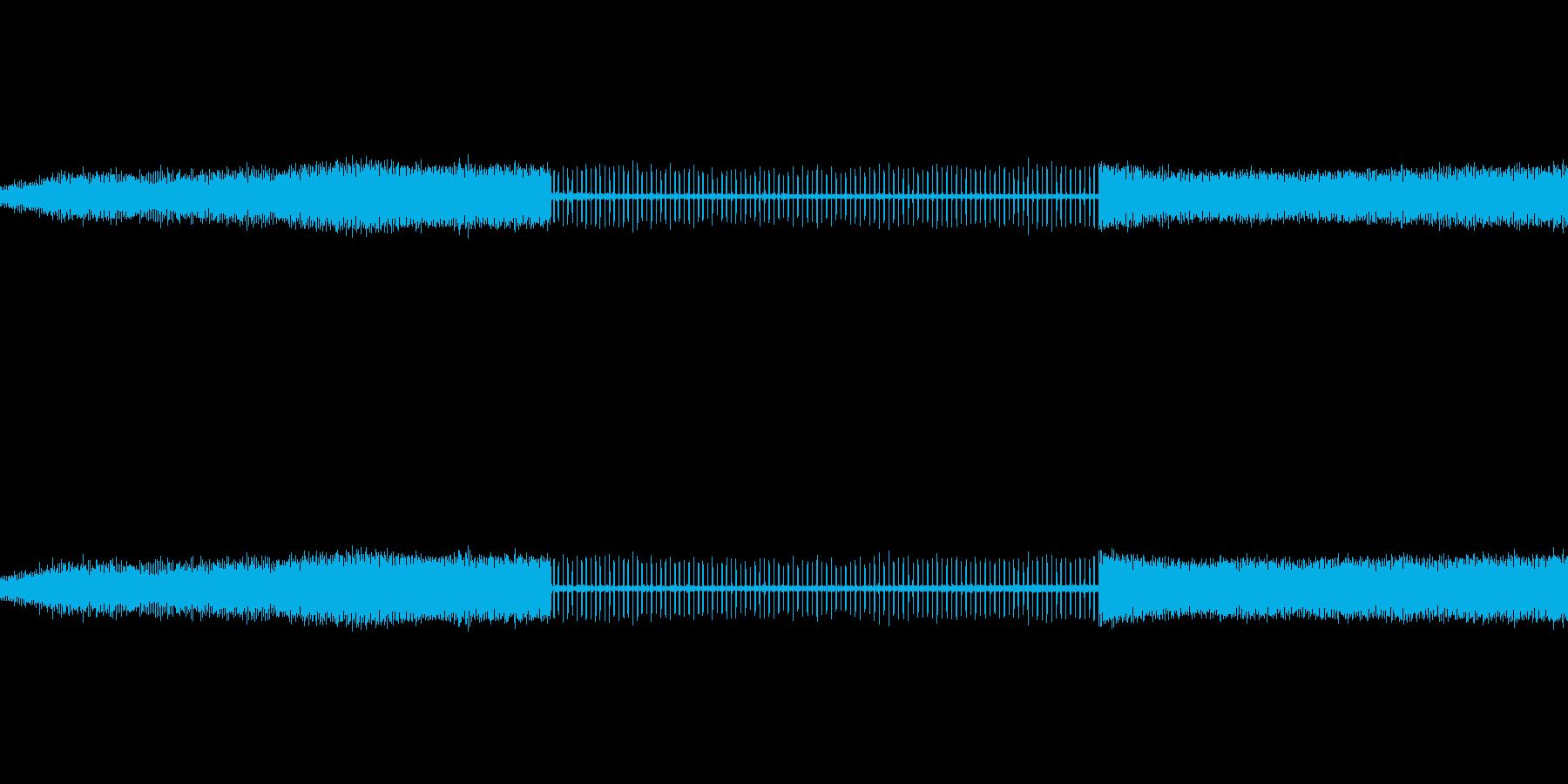 水スプリンクラーのダニ、の再生済みの波形