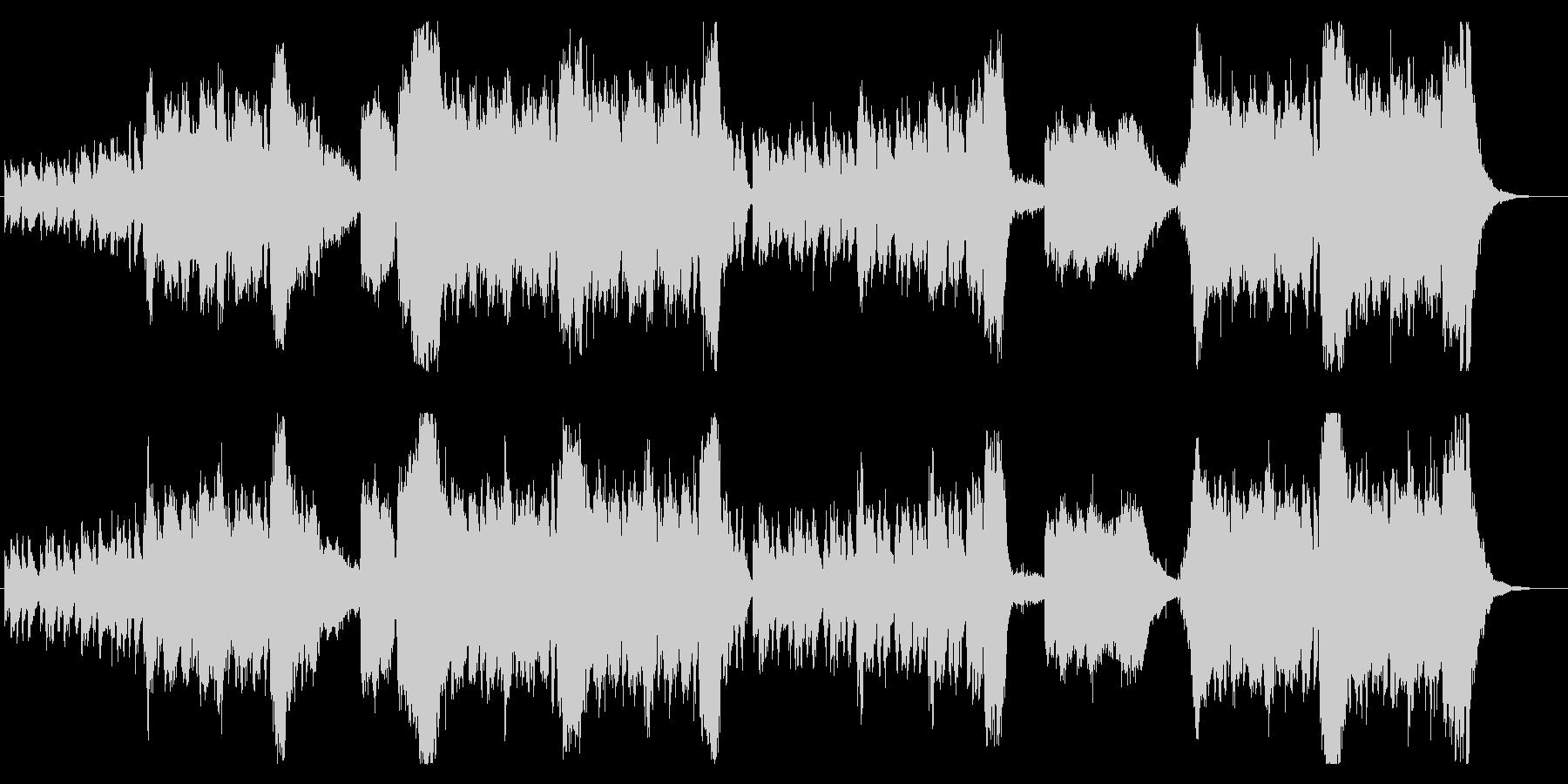 ハロウィンに聴きたい王道ゴシックメルヘンの未再生の波形