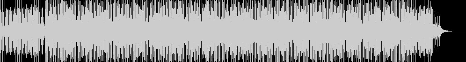 Rhodeピアノによるディープハウスの未再生の波形