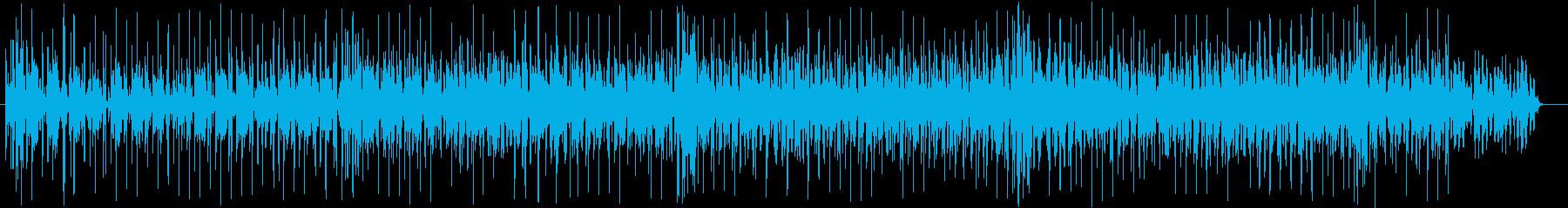 Minor and fantastic techno pop's reproduced waveform
