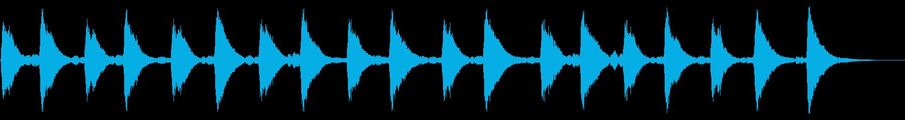 メルトンチャーチベル3:ミュートリ...の再生済みの波形