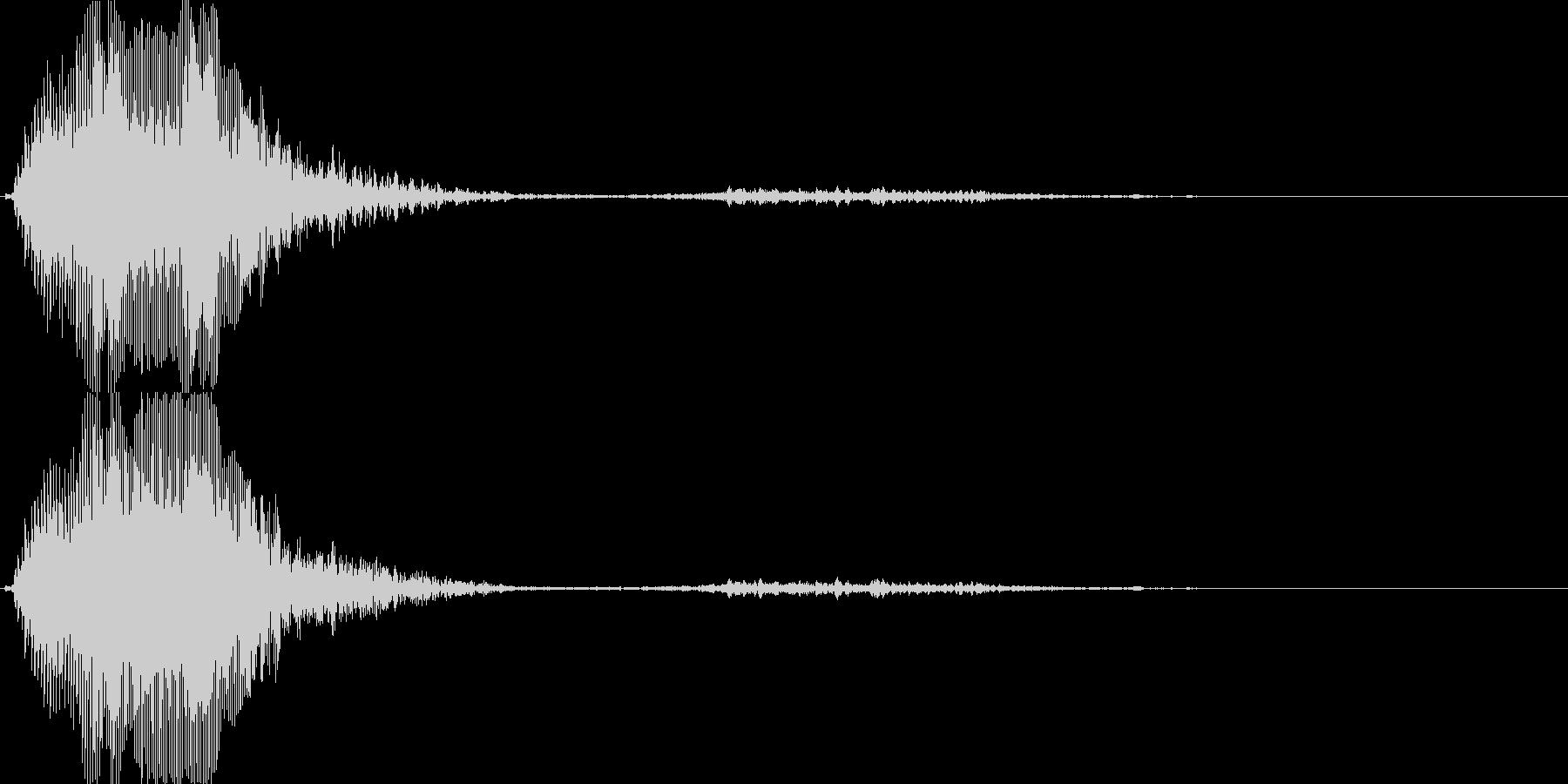 バラエティー向けの女性ボイス 2の未再生の波形