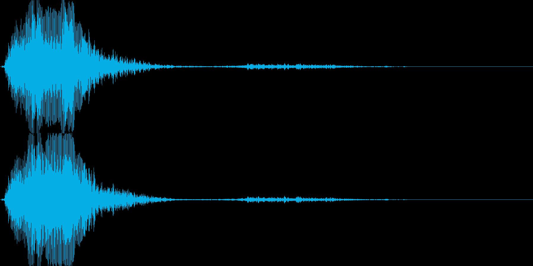 バラエティー向けの女性ボイス 2の再生済みの波形