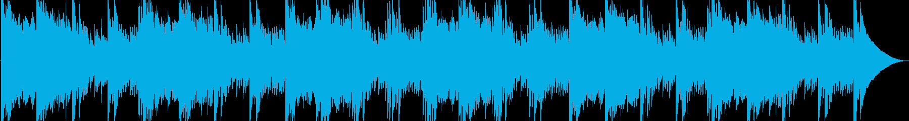 幻想的・静けさ・映像・解説・ナレーションの再生済みの波形