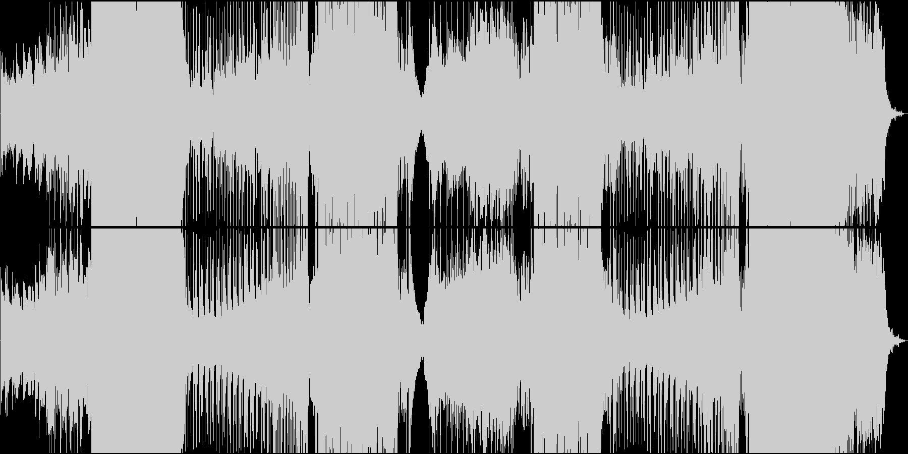 楽しいボイスがカワイイゆったりEDMの未再生の波形