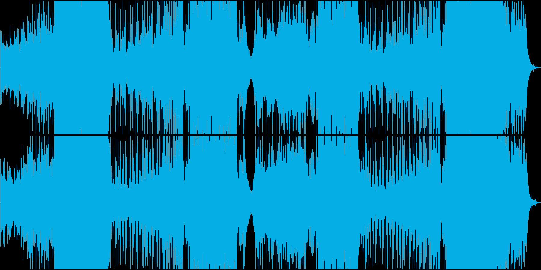 楽しいボイスがカワイイゆったりEDMの再生済みの波形