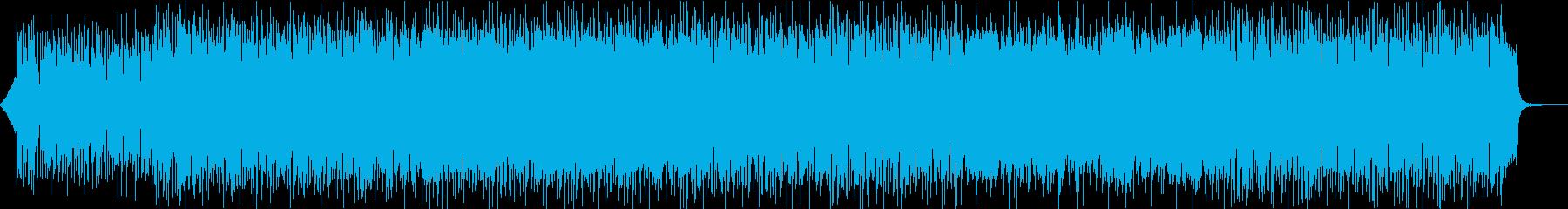 サックスの入った軽快なソフトロックの再生済みの波形