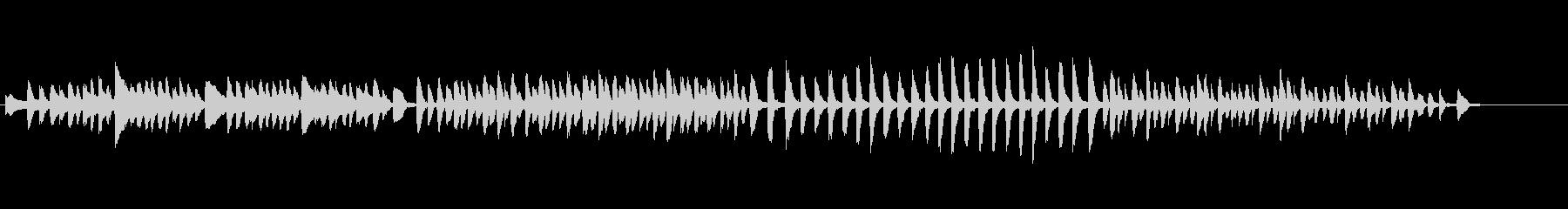 チャイコフスキー、子供のためのピアノ曲の未再生の波形