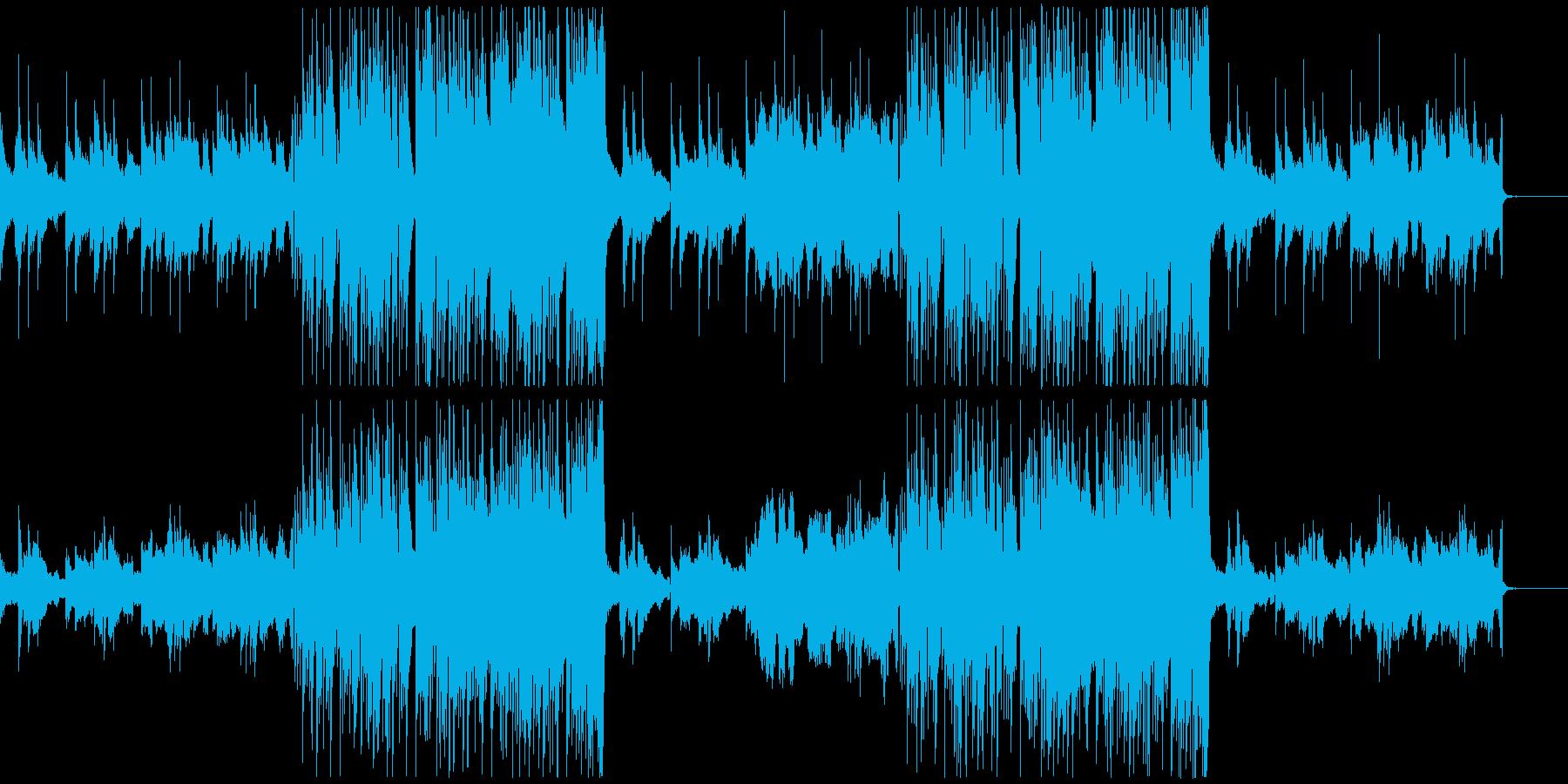 モダンでスタイリッシュなエレクトロBGMの再生済みの波形