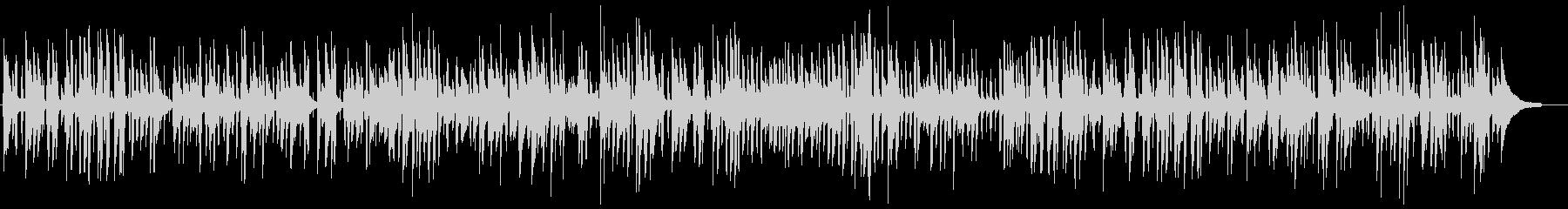 おしゃれなバーのソフトピアノジャズの未再生の波形