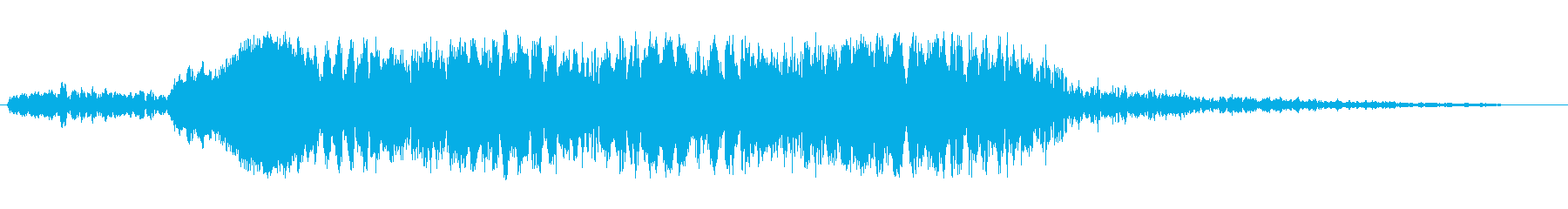プワプワプワプワン(シンセ系ブリブリ音)の再生済みの波形