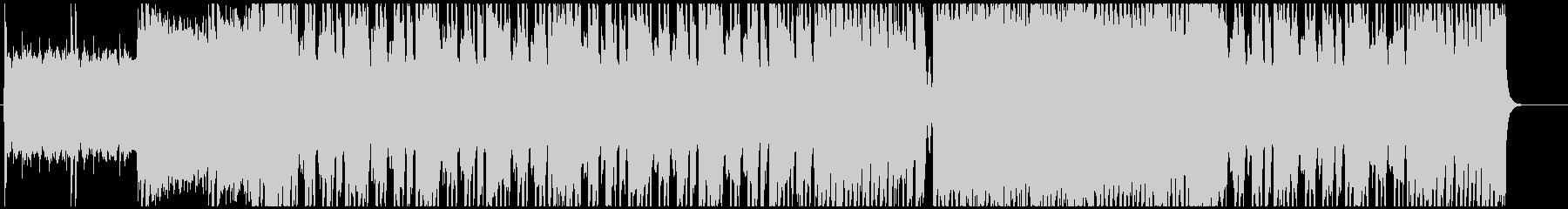 説得力のあるミドルテンポのギターロックの未再生の波形
