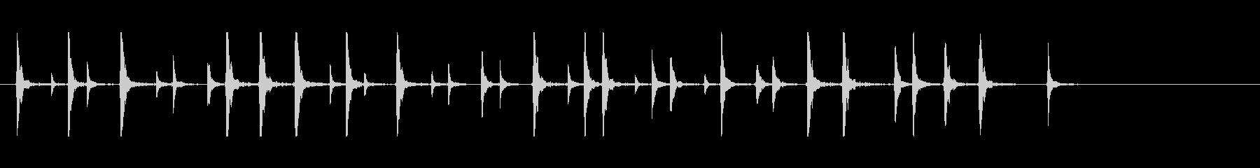 鼓7コミカル一調2和風歌舞伎アジアンイヨの未再生の波形