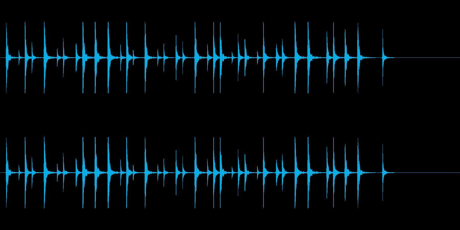 鼓7コミカル一調2和風歌舞伎アジアンイヨの再生済みの波形