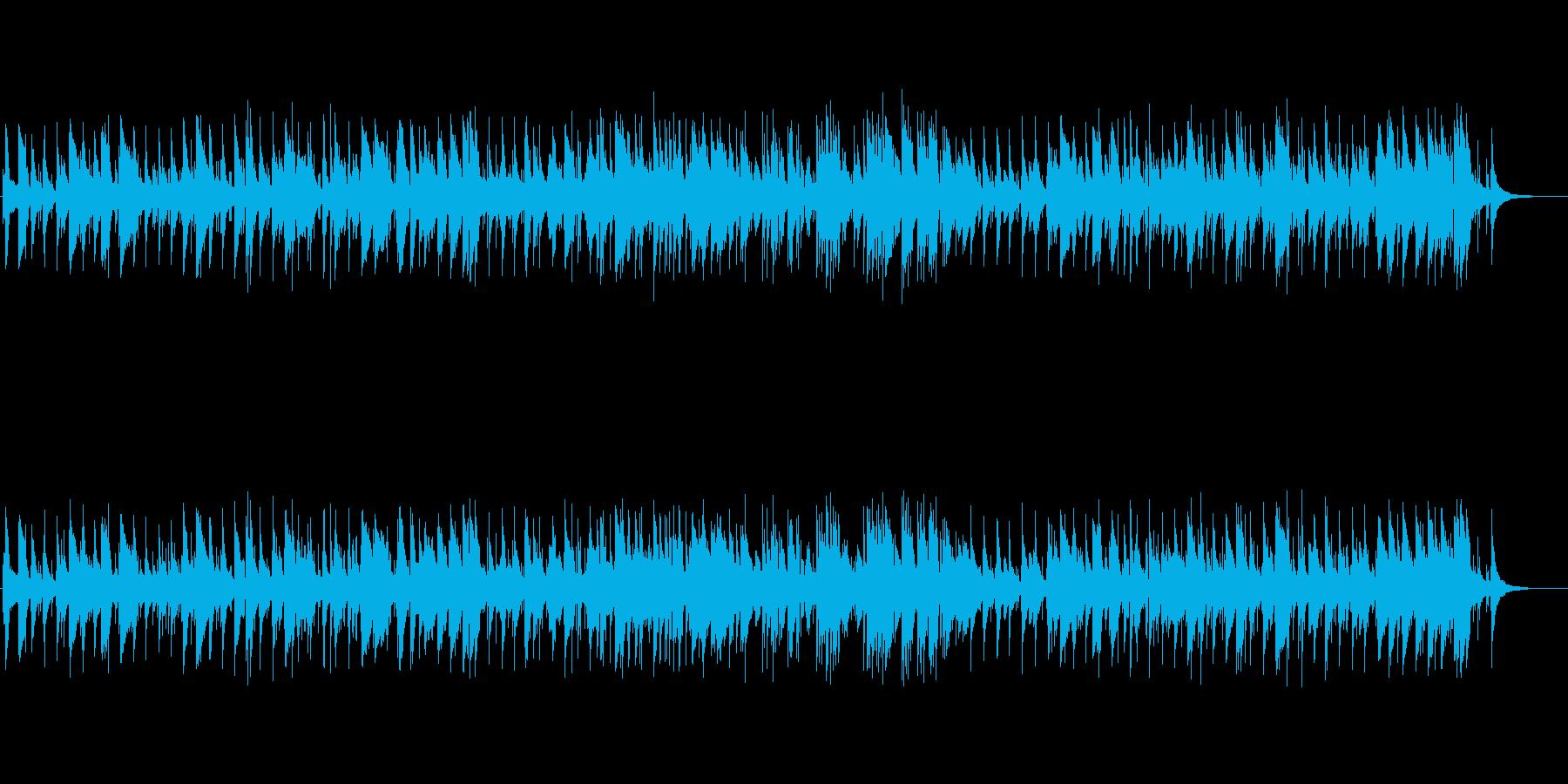 ジャズ風 ジムノペディの再生済みの波形