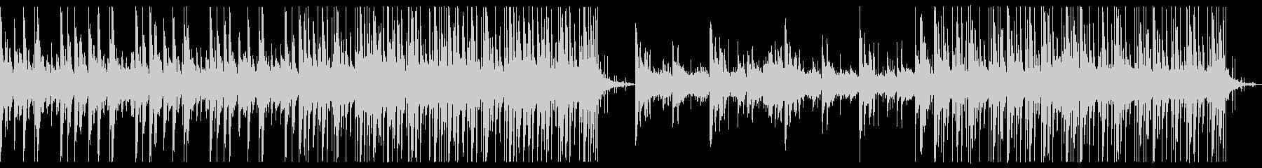 ホラーミステリー的な曲の未再生の波形