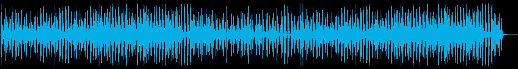 ほのぼのポップ ハーモニカ カジュアル の再生済みの波形