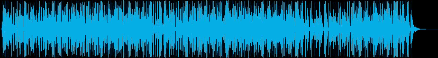 お洒落でゆったりラウンジジャズの再生済みの波形