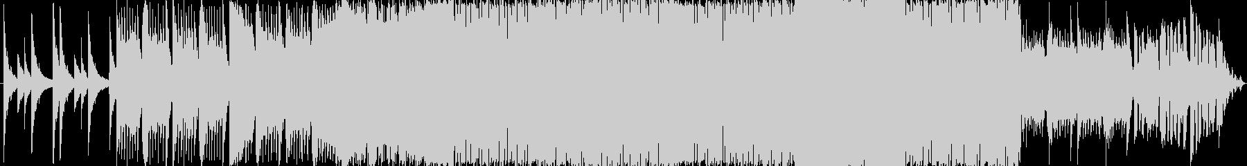 幻想的で爽やかな音楽の未再生の波形