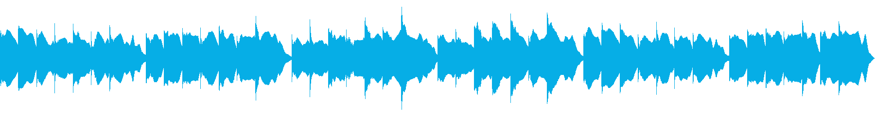 きらきら星ヴィブラフォン Vrの再生済みの波形