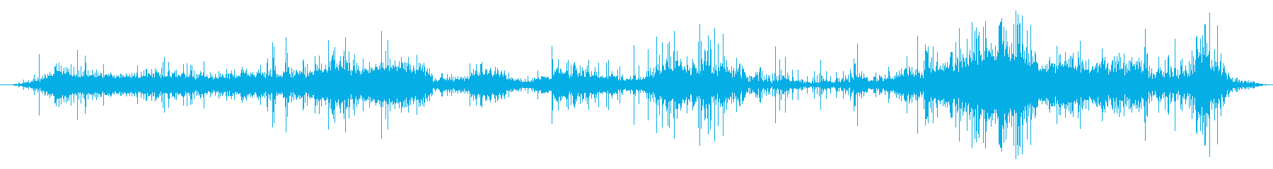 スチームリリースとシズル:熱い金属...の再生済みの波形