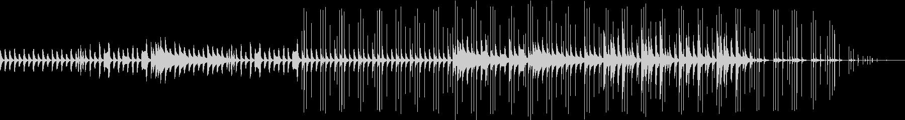 木琴、鉄琴で柔らかく暖かいイメージの曲。の未再生の波形